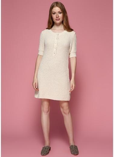 Faraway Elbise Beyaz